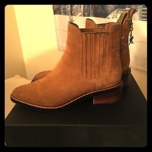 Coach Bowrie Booties size 6.5